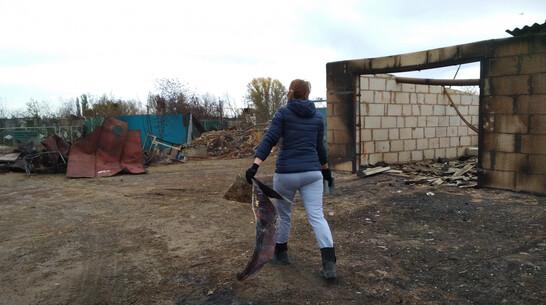 Погорельцы из воронежского села Николаевка получили первые выплаты