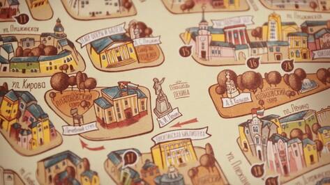 Презентация иллюстрированной карты «Воронеж на ладони» пройдет 10 февраля