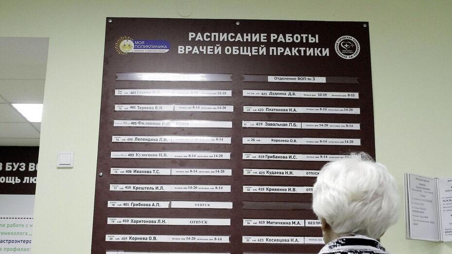 В воронежском облздраве прокомментировали увольнение врачей из поликлиники в Шилово