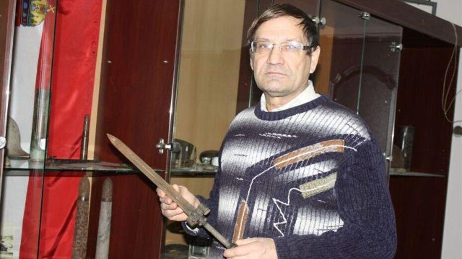 Хохольский военно-исторический музей съездил в Репьевку