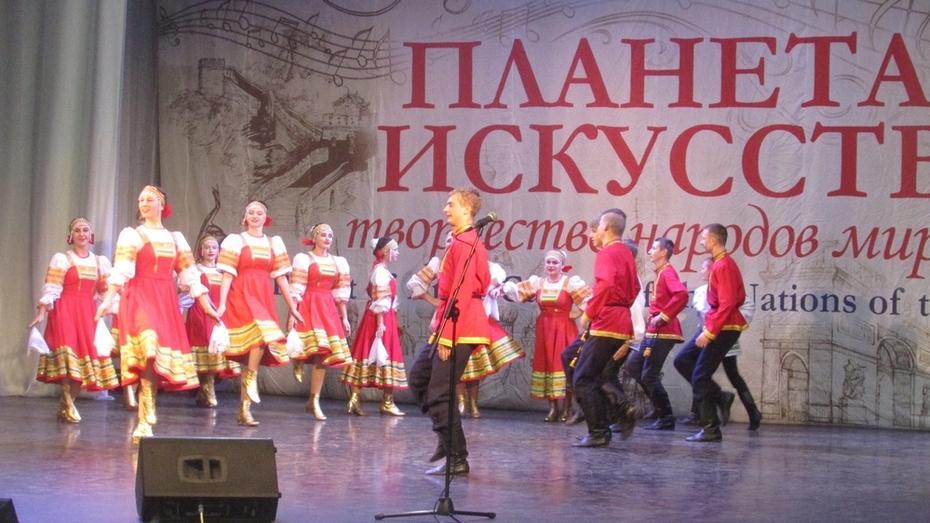 Народный хореографический ансамбль Таловского района отметили на всероссийском фестивале
