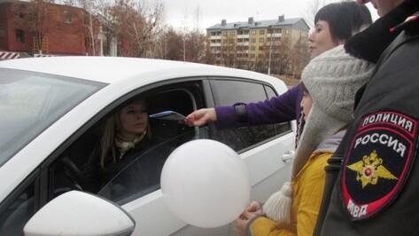 Богучарские школьники напомнили водителям о Правилах дорожного движения