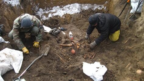 Воронежские поисковики передали для захоронения останки 108 солдат вермахта