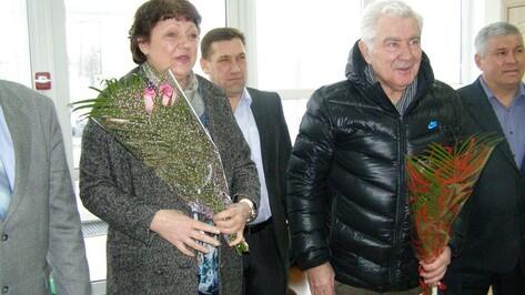 В Павловский район приехал тренер олимпийской чемпионки Ирины Макогоновой