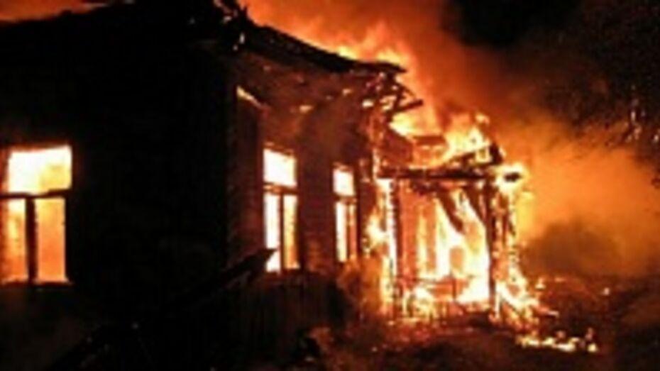 В Терновском районе при пожаре погиб мужчина