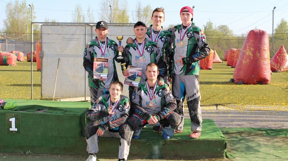 Верхнехавские пейнтболисты привезли «золото» с международного турнира LIONS CUP
