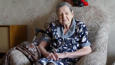 В Воронеже умерла 100-летняя ветеран Зоя Кубланова