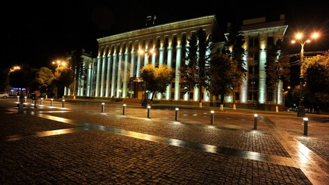 Административные здания Воронежа на час отключат от подсветки