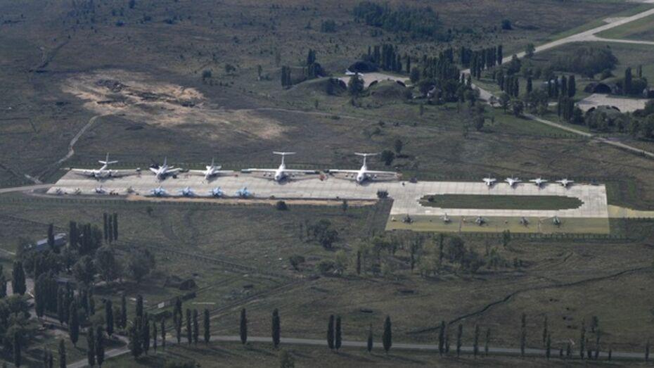 Военные пересмотрели планы модернизации авиабазы в Воронеже