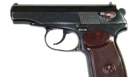 Воронежские полицейские нашли у задержанного грабителя боевой пистолет
