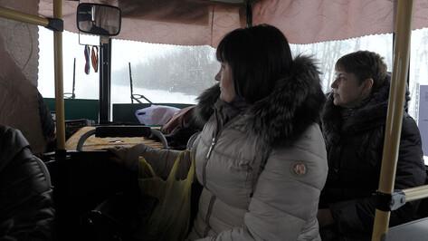 Три автобусных маршрута поменяют в Воронеже с 27 января