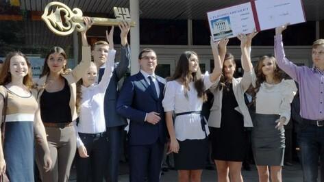Воронежский ГАСУ принял рекордное число первокурсников