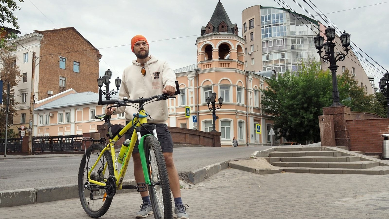 По зову сердца. Зачем велопутешественник из Новосибирска едет в Крым через Воронеж