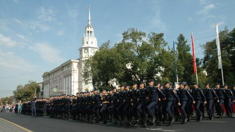«Встать в строй». Первокурсники Военно-воздушной академии приняли присягу в Воронеже
