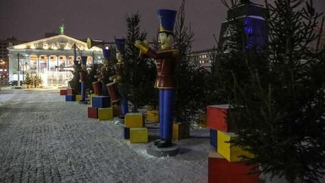 Появилась схема движения в центре Воронежа в новогоднюю ночь