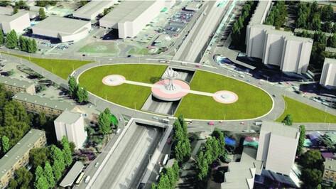 Губернатор поручил начать реконструкцию Остужевской развязки в Воронеже в 2019 году