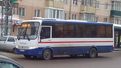 В Воронеже на маршрут №90 впервые вышли «ПАЗы»