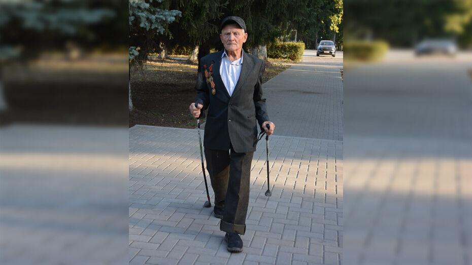 В Каширском районе 85-летний Василий Филиппов посвятил маршрут в 20 км Великой Победе