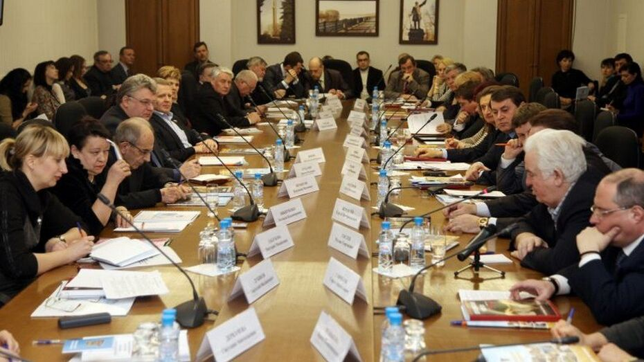 Депутаты Госдумы отчитаются перед воронежскими общественниками