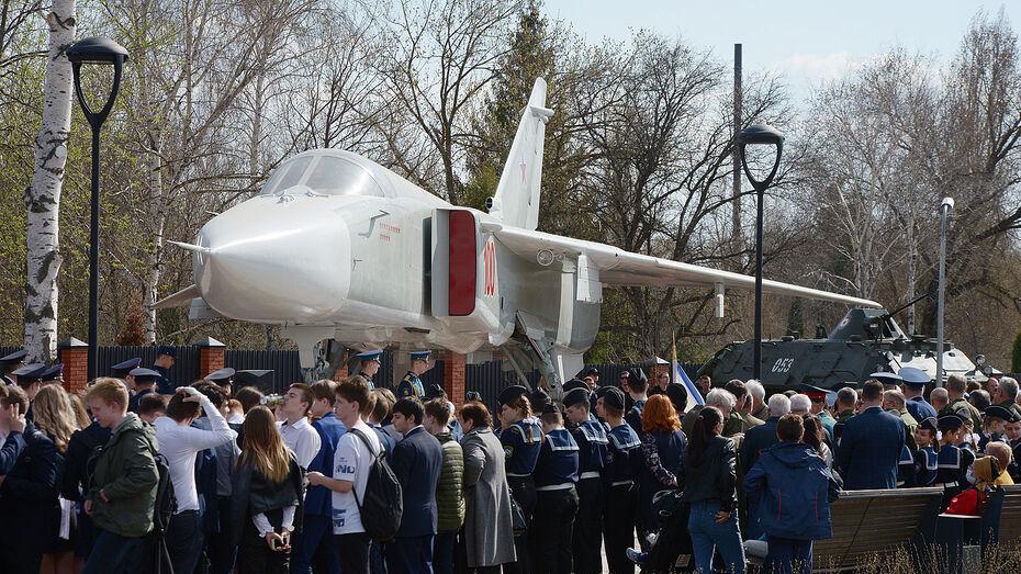 Под Воронежем в музее военной техники открыли новый экспонат – бомбардировщик Су-24М