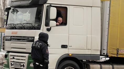 В Воронеже участников акции протеста против «Платона» доставили в полицию