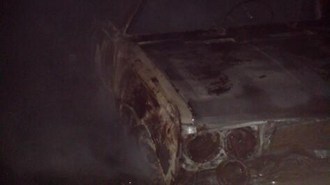 В Богучарском районе сгорела вылетевшая в кювет «шестерка»