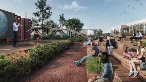 «Бетонные сады» из победившей в конкурсе Минстроя воронежской заявки спроектируют за 7 млн