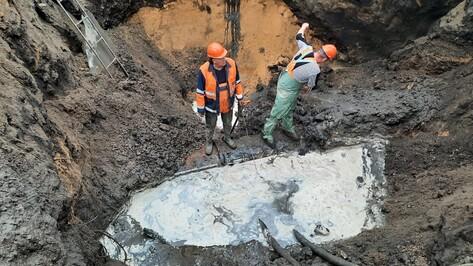 Для устранения аварии на улице Беговой в Воронеже воду отключили еще в ряде домов