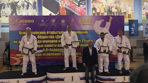 Воронежский дзюдоист завоевал «золото» на всероссийских соревнованиях среди юниоров