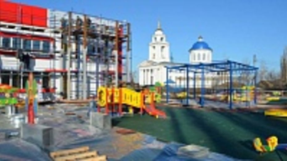 Семилукцы дали новому детскому саду имя «Улыбка»