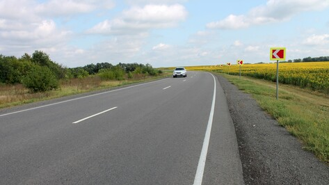 Дорожники досрочно отремонтировали 4 участка трассы «Воронеж-Тамбов»