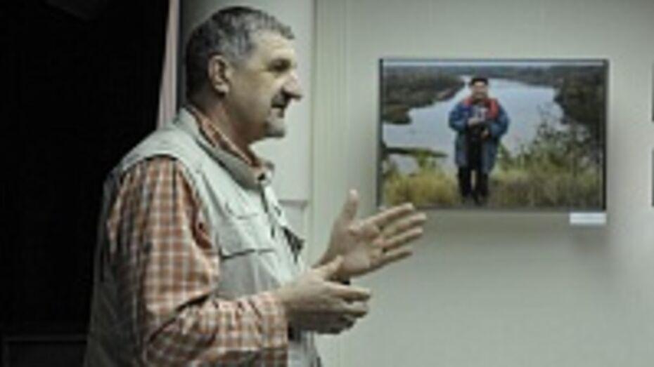 Ученик Василия Пескова рассказал воронежцам о методах фотосъемки и черном юморе писателя