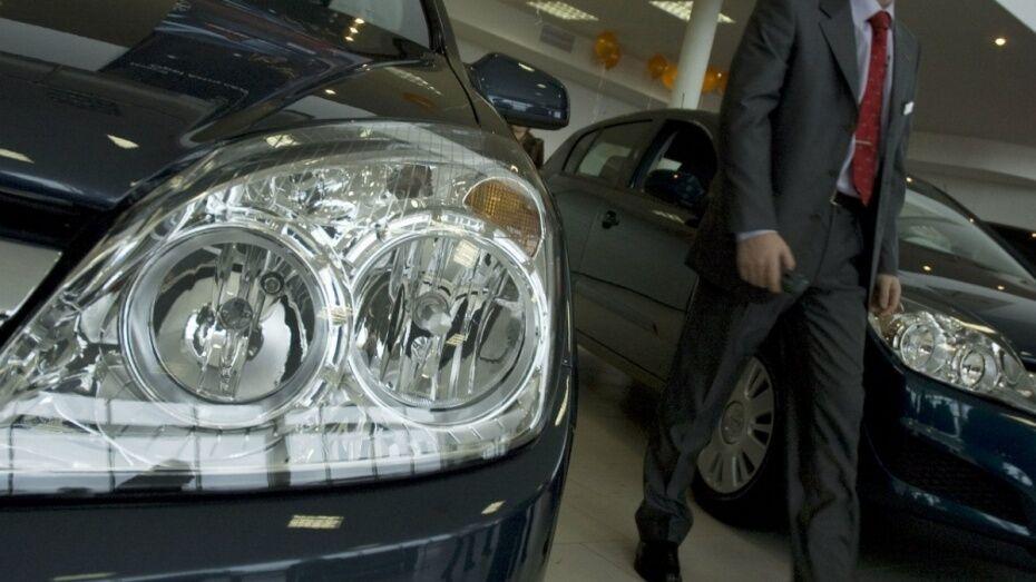 Продажи легковых автомобилей в Воронежской области упали на 13% за год