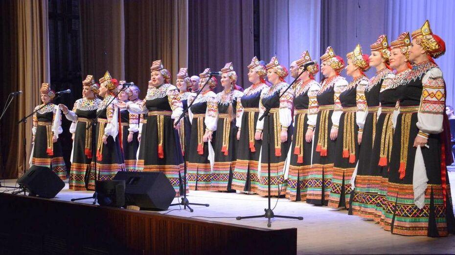 Павловский народный хор отметил 60-летие концертом