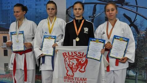 Воронежские каратисты взяли 3 «золота» на Кубке ЦФО