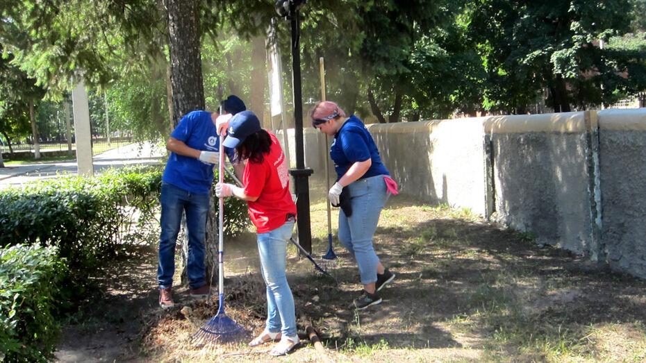 Молодые специалисты «РВК-Воронеж» провели субботник в зоопарке