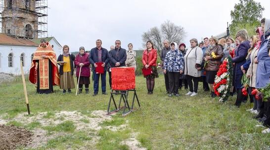 Найденные волгоградскими поисковиками останки лискинского солдата захоронили на малой родине