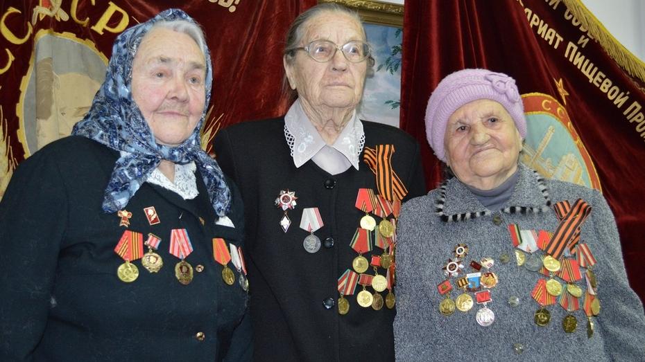 Эртильцы получили первые медали «70 лет Победы в Великой Отечественной войне»