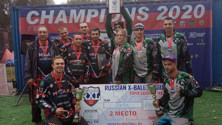 Верхнехавские пейнтболисты завоевали «золото» и «серебро» всероссийских соревнований
