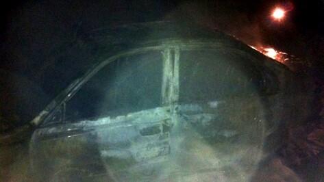 В Воронеже в Боровом неизвестные сожгли «Хендай»