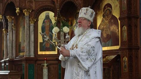 Митрополит Сергий поздравил жителей Воронежской области с Рождеством