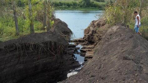 Воронежцев позвали на субботник у озера Круглое в Подгорном