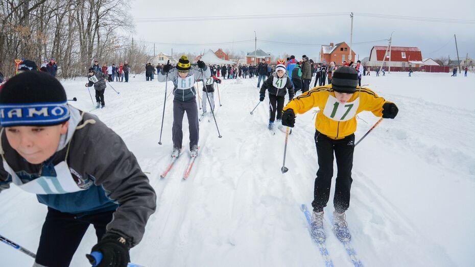 Более трехсот острогожцев приняли участие в лыжных гонках