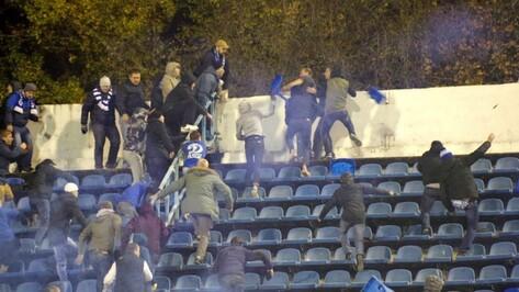 В Воронеже оштрафовали четырех фанатов «Факела» после драки на матче с «Динамо»