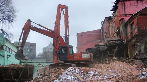 Эксперт не увидел культурной ценности в уничтоженном здании воронежского хлебозавода №1