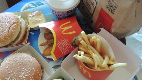 В Воронеже Роспотребнадзор закроет два ресторана сети McDonald`s