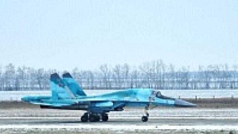 Завтра в Бутурлиновке начнутся первые полеты Су-34 в новом году