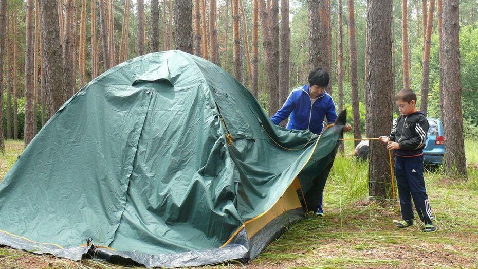 В Грибановском районе пройдет молодежно-семейный палаточный сбор «Савала-2017»
