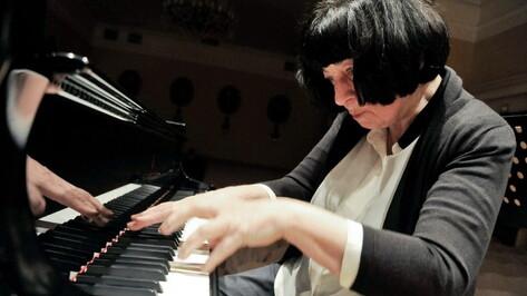 Выдающаяся пианистка Элисо Вирсаладзе выступит в Воронеже