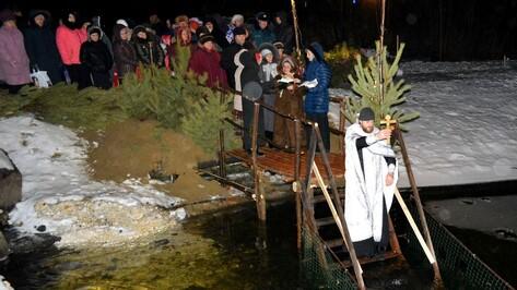 На Крещение в Воробьевском районе жители смогут окунуться в 3 купели